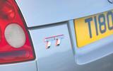 96 Audi TT mk1 Bauhaus feature 2021 rear logo