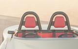 96 Aura electric speedster concept 2021 reveal seats