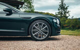 96 Bentley Flying Spur PHEV 2021 official images alloy wheels