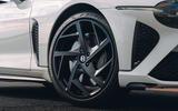 96 Bentley Mulliner Bacalar prototype drive 2021 alloy wheels