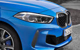 BMW 1 Series 2019 official reveal - front end