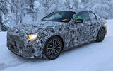 BMW 2 Series Coupe winter test spy images - front right