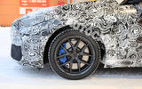 BMW 2 Series camouflage winter testing 2019 - alloy wheels