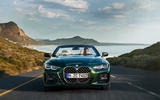 2021 BMW 4 Series Convertible official images - tracking nose