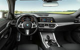 96 BMW 4 Series Gran coupe 2021 official reveal images cabin