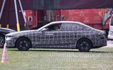 96 BMW 5 Series 2023 spies side