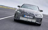 96 BMW i4 2021 prototype drive nose