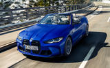 96 BMW M4 Convertible 2021 official reveal nose