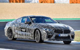 2019 BMW M8 prototype ride - slide front