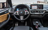 96 BMW X3 M 2021 LCI official images cabin
