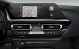 2019 BMW Z4 official reveal Pebble Beach - infotainment