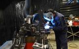 96 British Motor Heritage factory visit 2021 welding