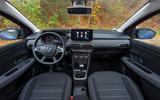Dacia Sandero 2021 UK official images - interior