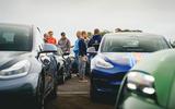 96 EV track day llandow 2021 feature crowd