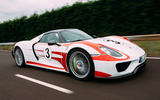 96 fastest cars tested by Autocar Porsche 918 spider