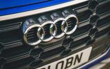 96 Genesis vs Audi twin test 2021 audi badge