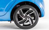 Hyundai i10 2019 reveal - studio alloy wheels