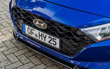 Hyundai i20 2020 prototype drive - front bumper