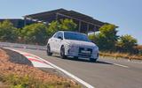2021 Hyundai i30 Fastback N prototype drive - cornering front
