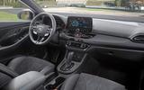 Hyundai i30 N 2020 facelift official images - cabin