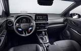 96 Hyundai Kona N official images dashboard