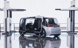 Jaguar Land Rover Project Vector official images - three quarters