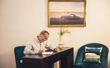 Julian Thomson interview - desk