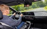 96 Kia EV6 prototype drive 2021 JA driving