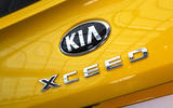Kia Xceed 2019 official reveal - rear badge