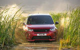 Land Rover Discovery Sport 2019 official pictures - wading