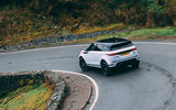Land Rover Range Rover Evoque 2019 first ride review - cornering rear