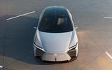 96 Lexus LF Z concept official images static nose