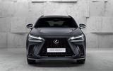 96 Lexus NX 450h+ 2021 official reveal nose