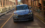 96 Maserati Levante Hybrid 2021 official images nose