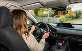 Mazda e-TPV prototype 2019 first drive review - Rachel Burgess driving