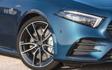 Mercedes-AMG A35 Saloon 2019 official reveal - headlights