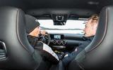 Mercedes-AMG A45 2019 prototype ride - Greg Kable passenger