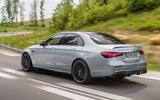 2020 Mercedes-AMG E63 facelift - saloon rear