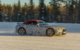 96 Mercedes AMG SL prototype official winter testing side