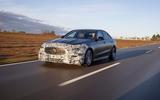96 Mercedes Benz C Class 2021 prototype ride on road