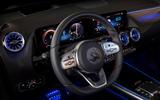 96 Mercedes Benz EQA 2021 prototype drive dashboard