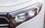 96 Mercedes Benz EQA official images headlights