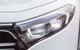 96 Mercedes Benz EQA official images headlights
