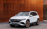 96 Mercedes Benz EQB 2021 official images satic front