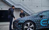 96 Mercedes Benz EQS prototype ride 2021 interview