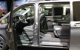 Mercedes-Benz V-Class 2019 reveal - doors
