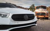 Mercedes-Benz E-Class 2020 prototype ride - front end