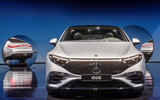 96 Mercedes EQS official reveal images nose