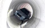 Mercedes-Benz GLA prototype ride 2019 - tunnel