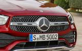 Mercedes GLC Coupe 2019 press - front bumper